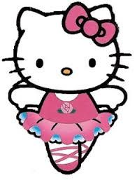 Image result for free hello kitty clip art ballerina.