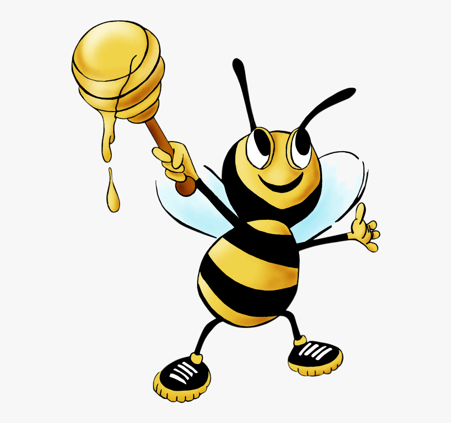 Bee Honey Clipart Drawing Free Cliparts Transparent.