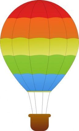 Hot Air Balloon Clip Art Free.