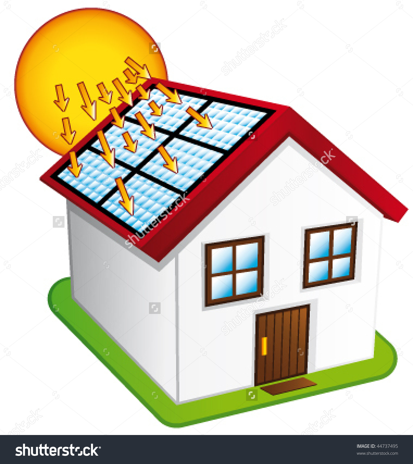 Showing post & media for Cartoon solar panels clip art.