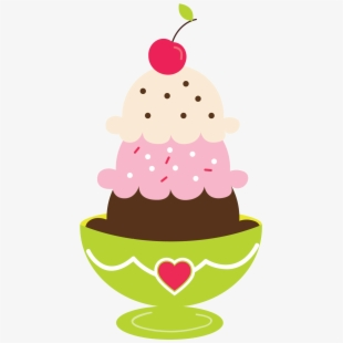 PNG Ice Cream Sundae Cliparts & Cartoons Free Download.