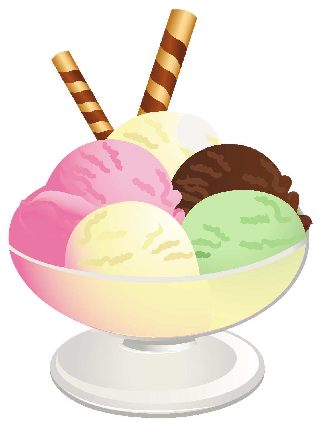 Ice Cream Sundae PNG Picture.