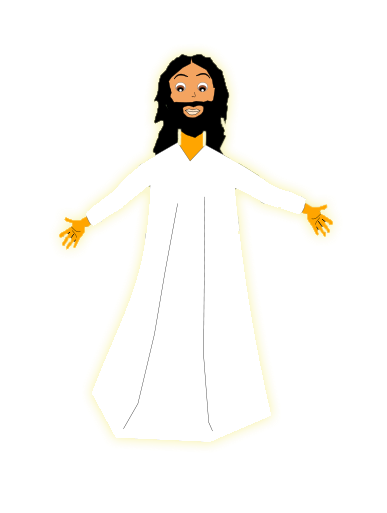 Free Resurrection of Jesus Clip Art.