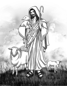 I Am The Good Shepherd Clipart.