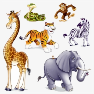 PNG Jungle Animals Cliparts & Cartoons Free Download.