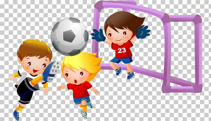 Play Football Child , Football PNG clipart.