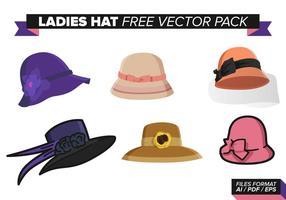 Vector Ladies Hat.