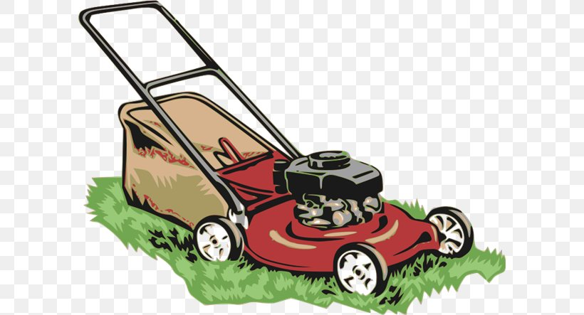Lawn Mower Clip Art, PNG, 600x443px, Lawn Mower, Automotive.