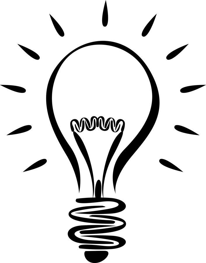 Lightbulb free light bulb clip art pictures in 2019.