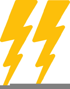 Free Clipart Of Lightning Bolts.