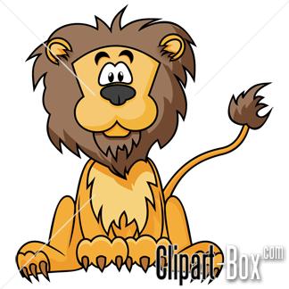 CLIPART CARTOON LION.