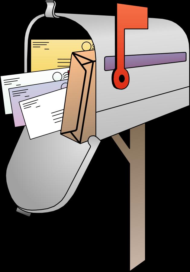 Mailbox Vector 01 Clipart, vector clip art online, royalty.