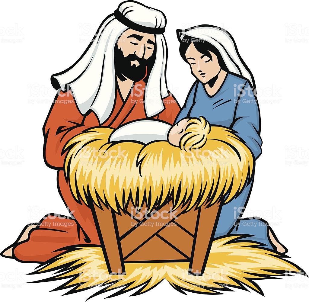 1059 Baby Jesus free clipart.