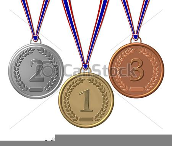Free Clipart Of Medals.