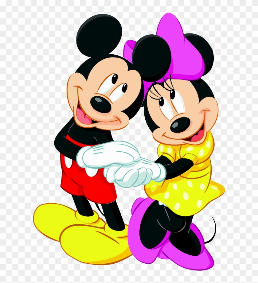 Clipart Mickey Minnie Mouse.