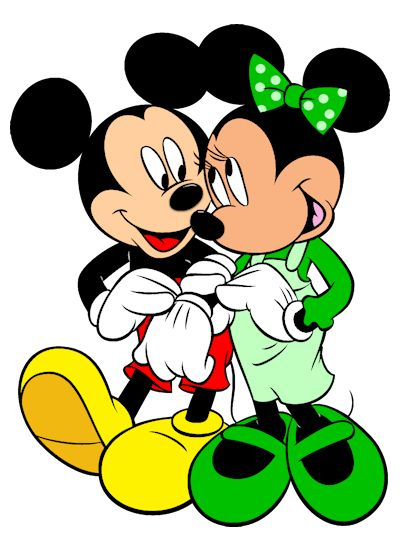 Mickey Mouse Y Minnie Clipart.