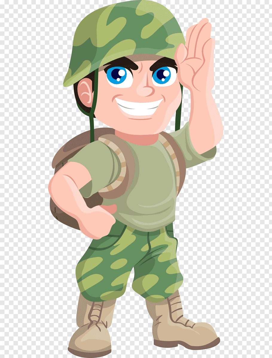 Army carrying backpack, Soldier Free content Military, Hand.