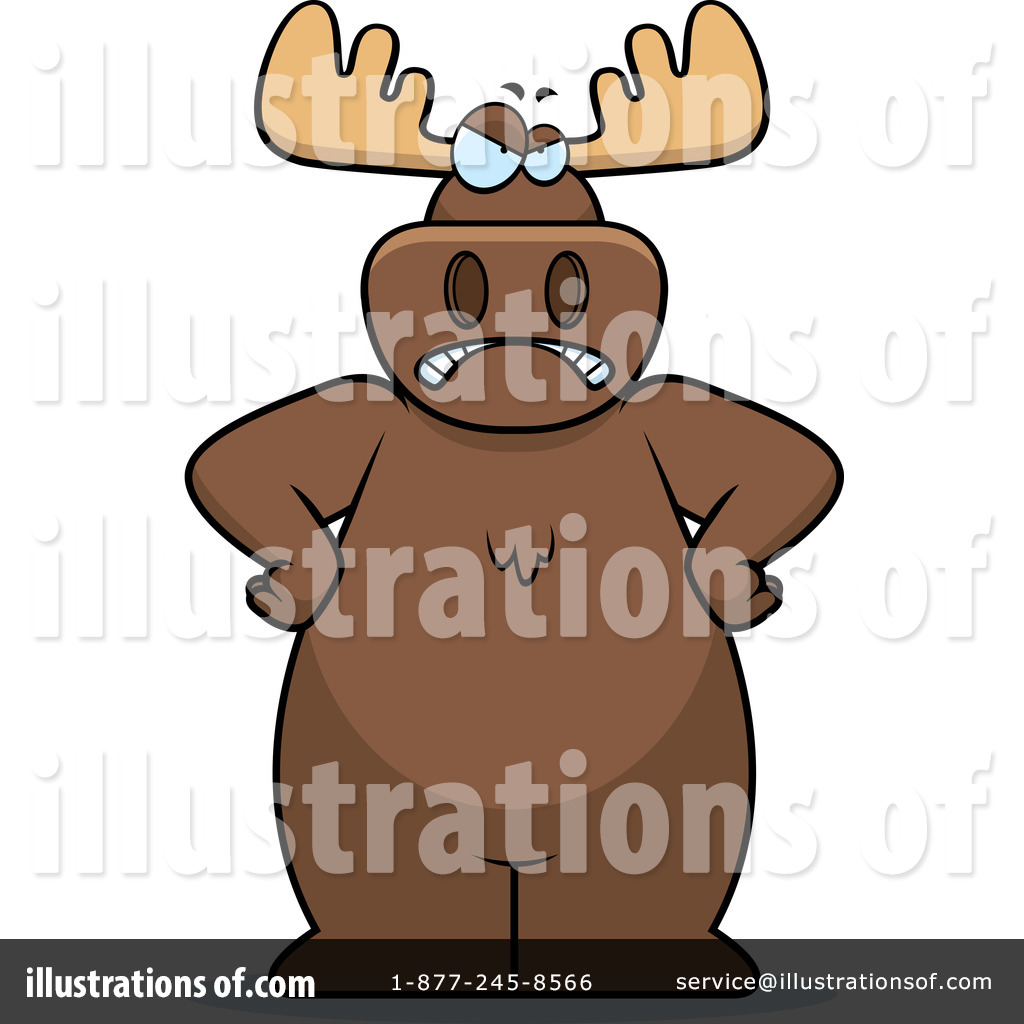 Moose Clipart #102733.