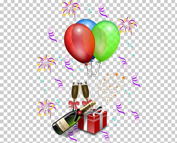 New Years Eve Party New Years Day PNG, Clipart, Anniversary, Balloon.