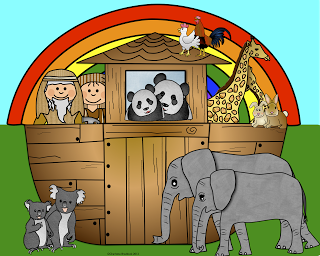 Free Noah\'s Ark Clip Art and Lesson Links (Faith Filled.