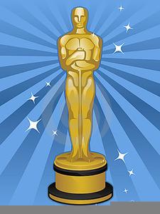 Free Oscar Trophy Clipart.