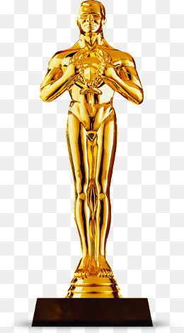 Download Free png Oscar Statue Png, Vector, PSD, and Clipart.