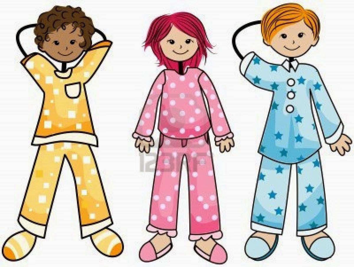 182 Pajama Day free clipart.