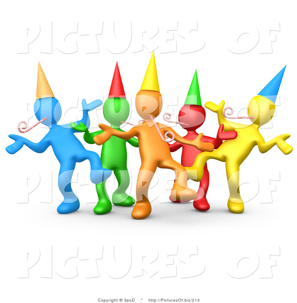 Party People Clipart.