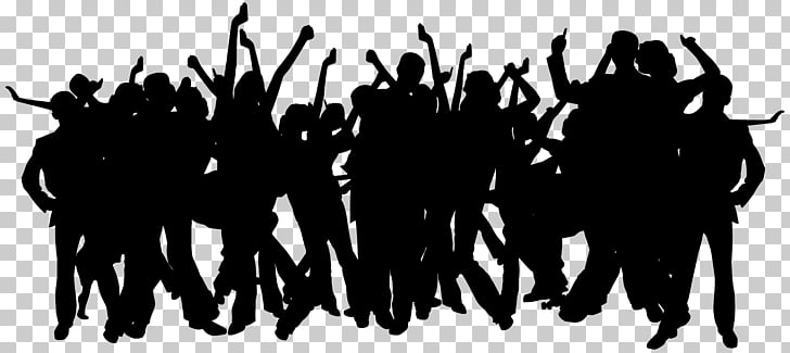 Party Silhouette , Party People Silhouettes PNG clipart.