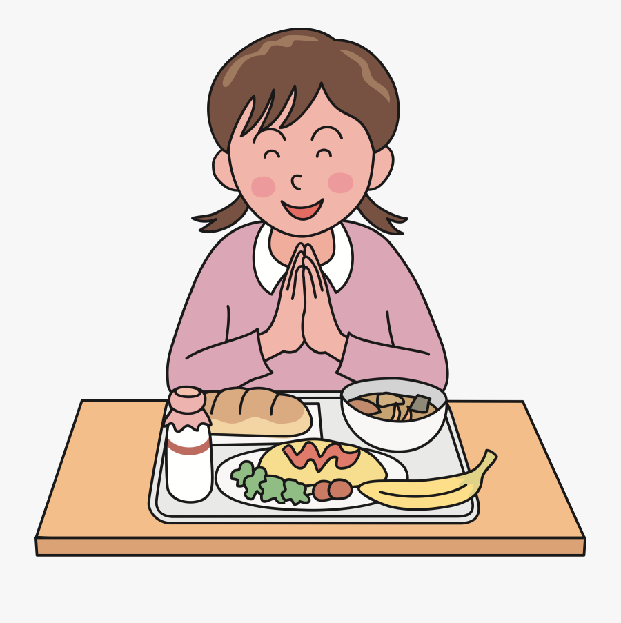 Lunch Clipart Prayer.