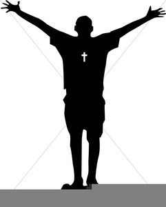 Clipart Of Person Praising God.