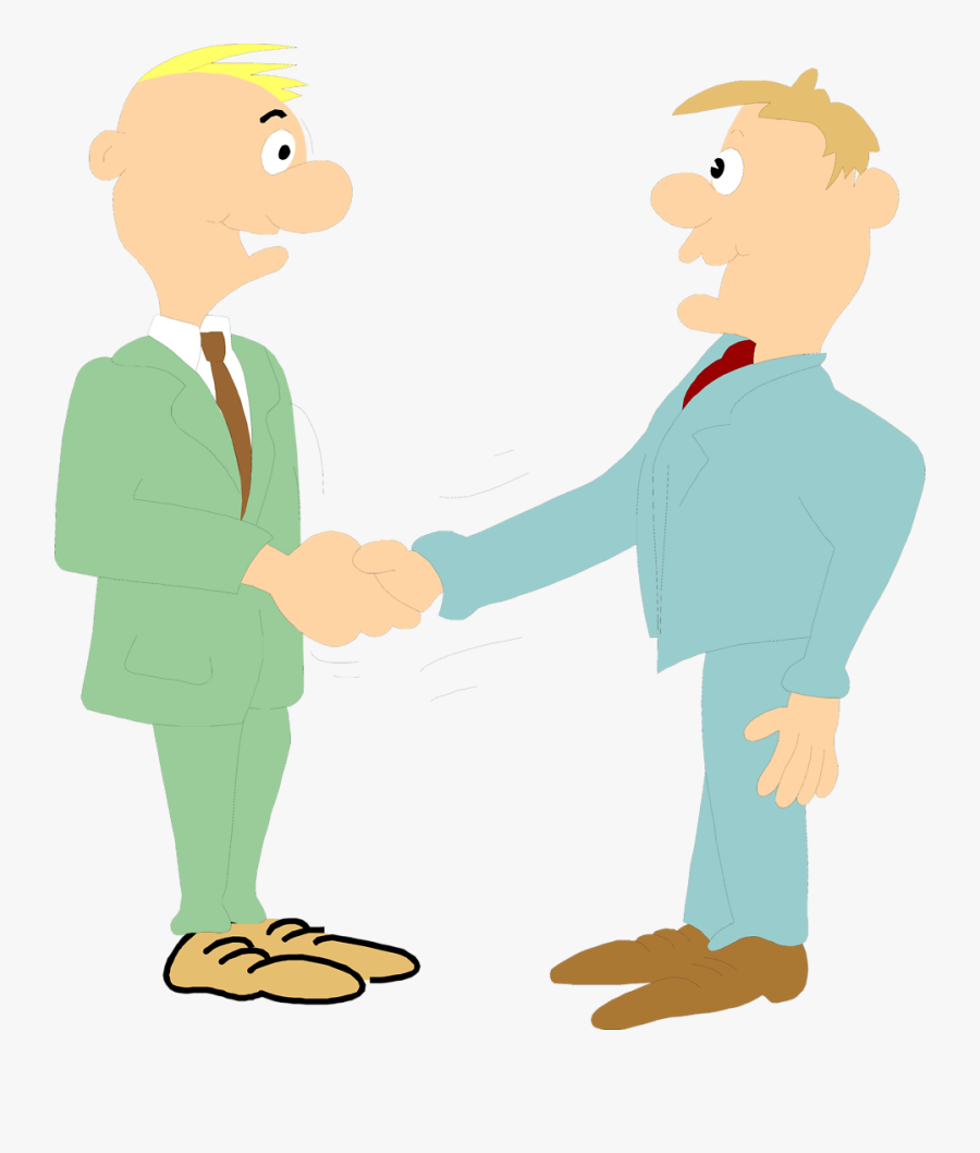 Guys Shaking Hands Clipart , Free Transparent Clipart.