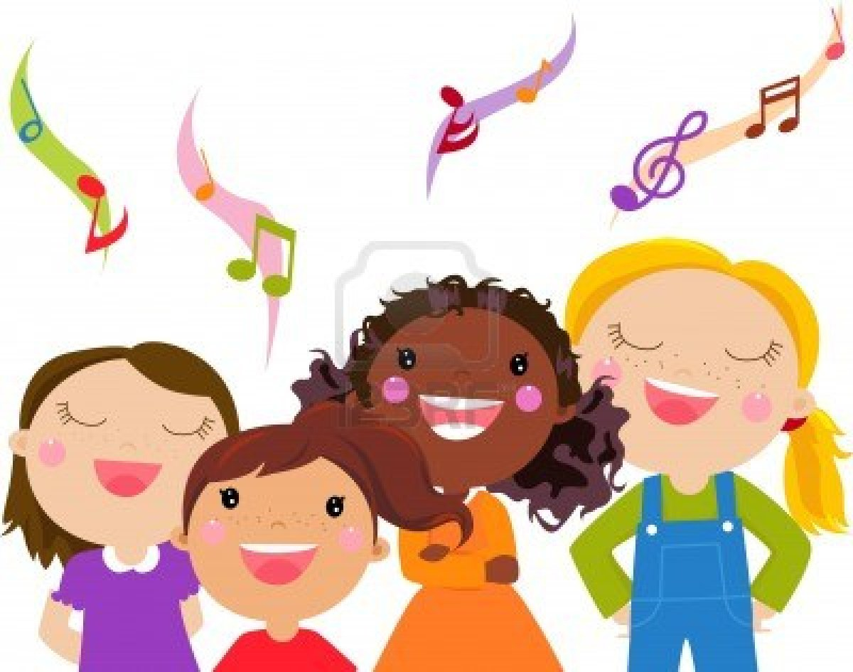 free clipart of people singing #4