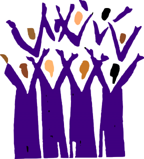 Free Clipart Of People Worshipping.