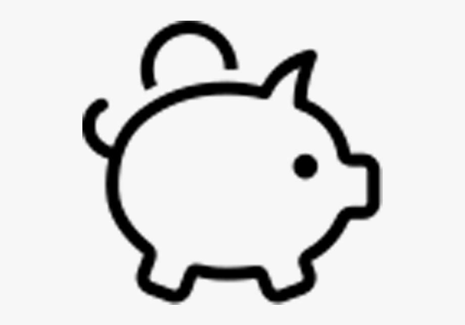Clip Art Piggy Bank , Transparent Cartoon, Free Cliparts.