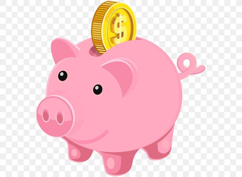 Piggy Bank Money Clip Art, PNG, 579x600px, Piggy Bank, Bank.