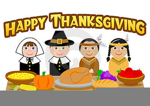 Free Clipart Of Pilgrims And Indians.