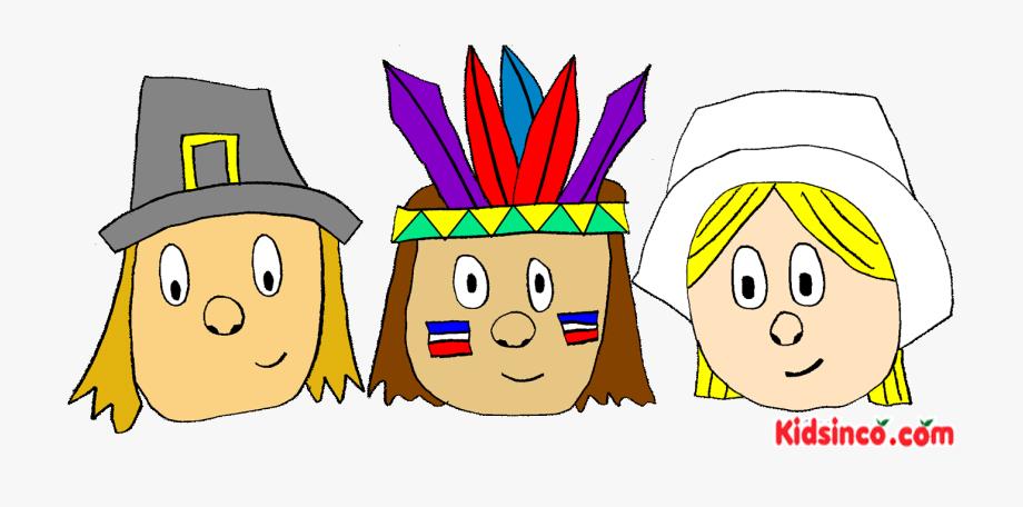 Pilgrims, Indians, Thanksgiving Clip Art.