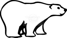Free Polar Bear Clipart.