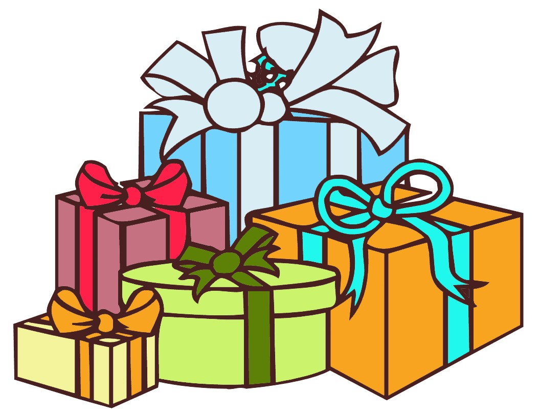 Img Large Watermarked With Presents Clipart.