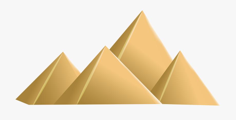 Egyptian Pyramids Png Clip Art.