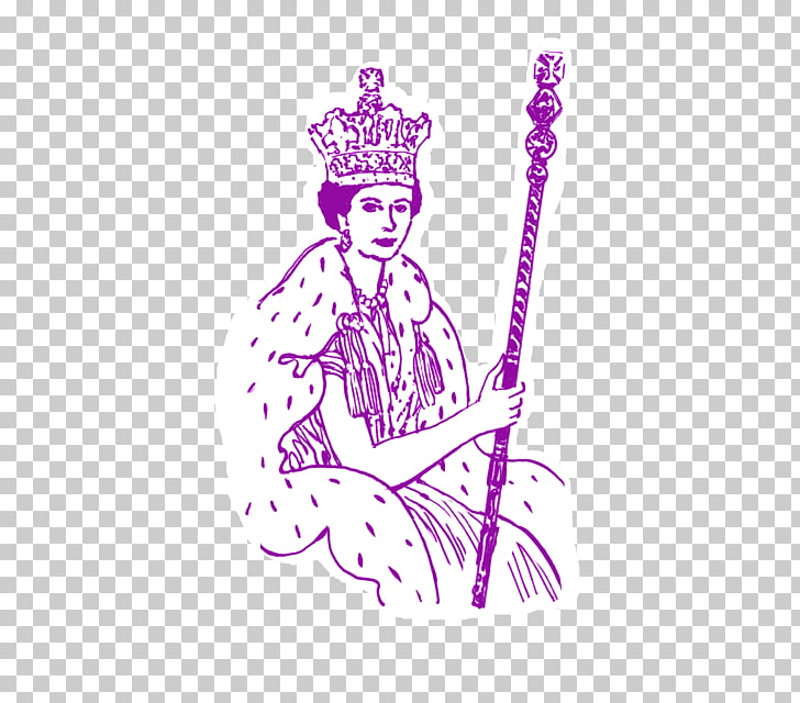Elizabeth II Sceptre The Queen Drawing , others PNG clipart.