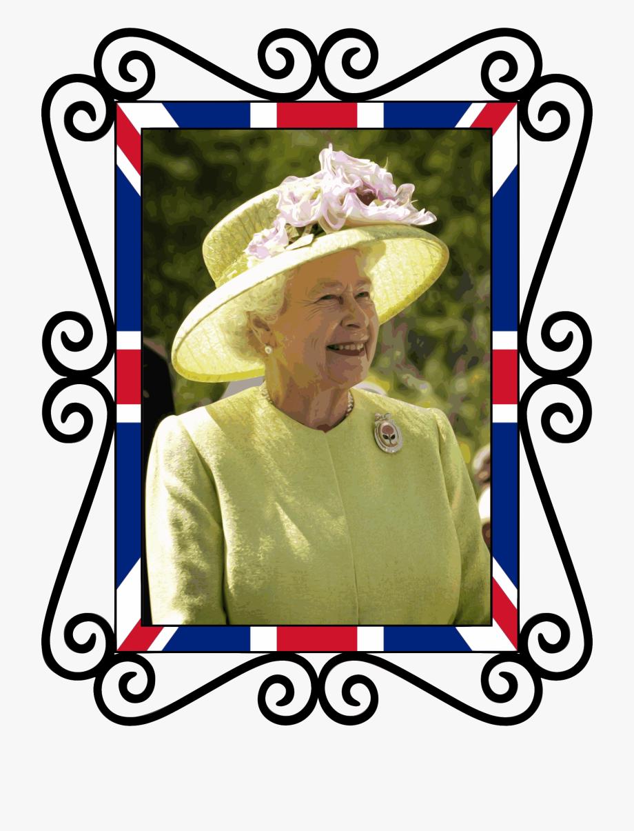 Queen Elizabeth Ii Tribute Clip Arts , Transparent Cartoon.