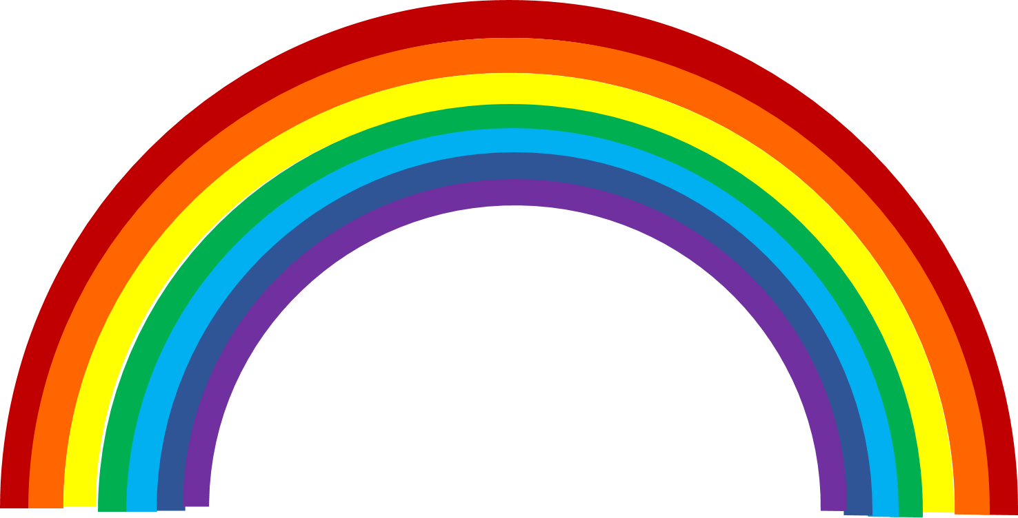 Free Clipart Images Of Rainbows.