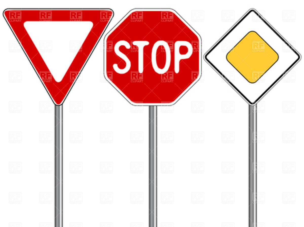 Free clipart traffic signs 5 » Clipart Station.
