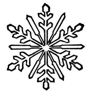 Snowflakes free snowflake clipart public domain snowflake.