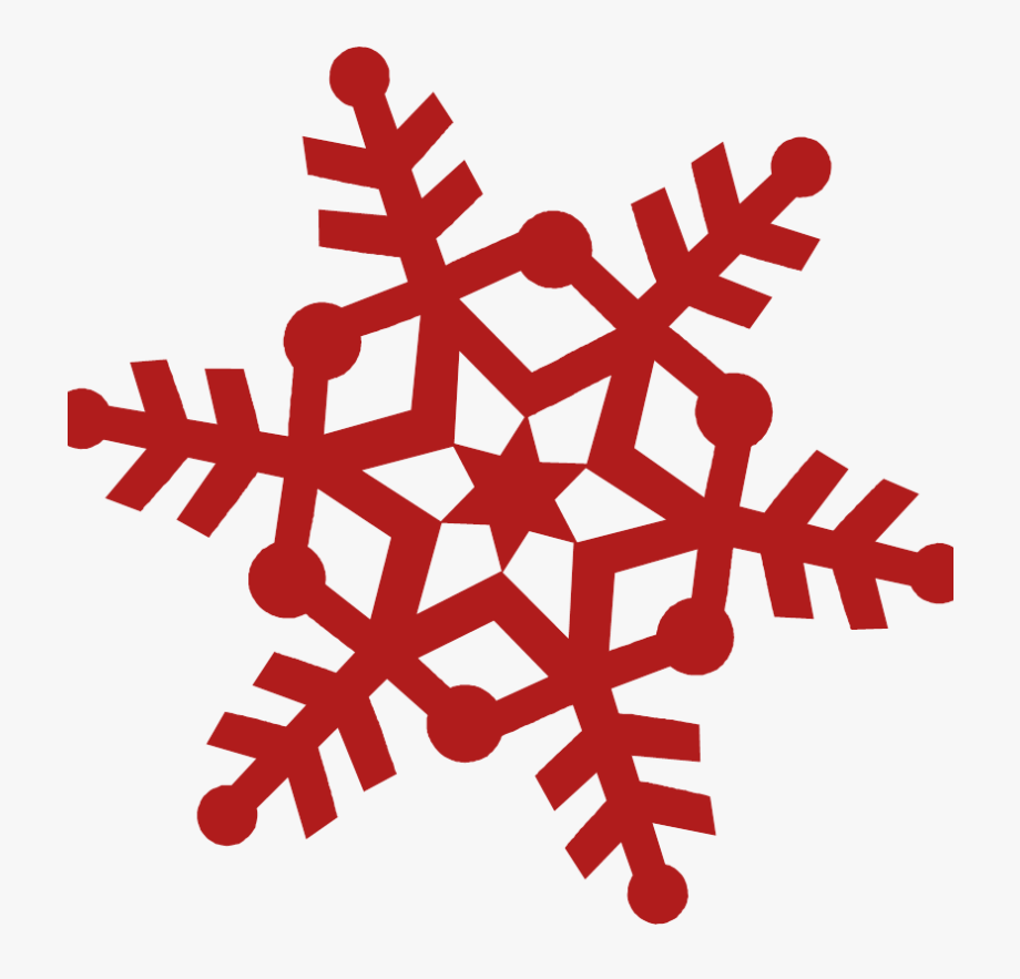 Red Snowflake Clipart Free Clip Stock Snowflake Pink.