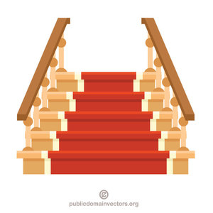 40 stairs free clipart.