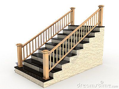 1990 Stairs free clipart.