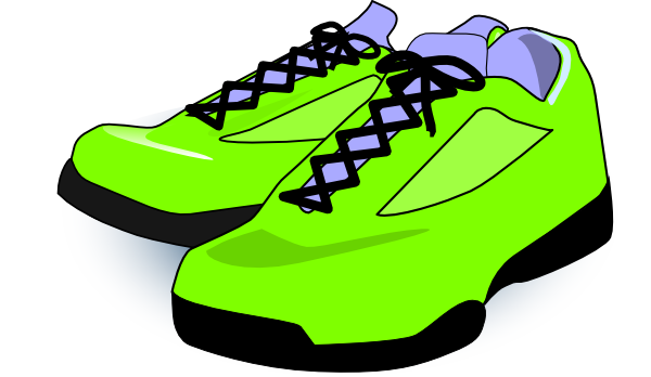 Tennis Shoes Clip Art & Tennis Shoes Clip Art Clip Art Images.